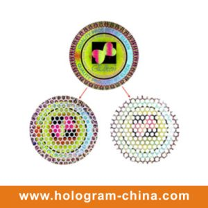 Honeycomb Tamper Evident Hologram Stickers Printing pictures & photos