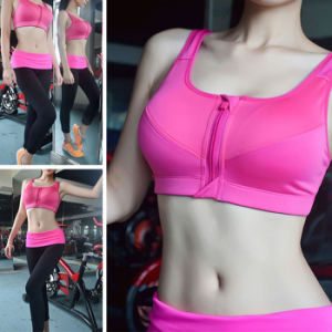 Sexy Women Clothes High Quality Quick Drying Sportswear Yoga Bra pictures & photos