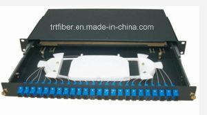 1u 24 Port SC/PC Fiber Patch Panel pictures & photos
