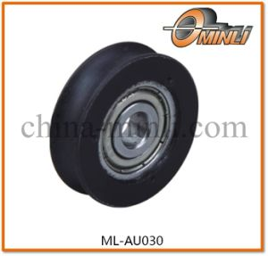 U Groove Nylon Bearing Plastic Pulley for Slinding Door (ML-AU030) pictures & photos