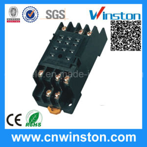 Mini Automatic Plastic Solid State Relay Socket with CE pictures & photos