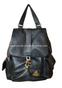 fashion Ladies′ Leather Backpack with Hight Quality (BS13453)