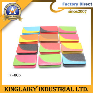 Promotion Leather Emboirdery Name Card Box with Logo (K-003) pictures & photos