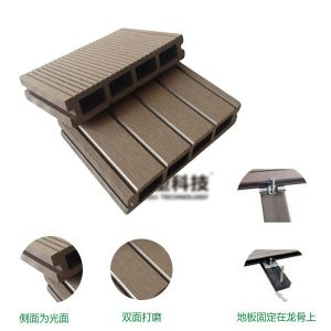 Best Selling WPC Decking with CE, ISO9001 pictures & photos