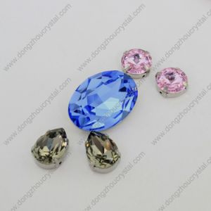 Manufacturer Wholesale Light Sapphire Crystal Jewelry Stone From Jinhua City pictures & photos