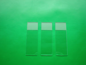 Microscope Slide 7105 Frosted on One Side pictures & photos