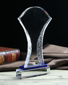 Best Selling Blank Crystal Trophy Award for Business Gift pictures & photos