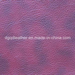 Scratch Resistant Synthetic Leather (QDL-50306) pictures & photos