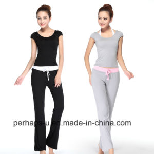 Cheap&Authentic Yoga and Dancing Clothing with 3 Pieces pictures & photos