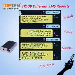 GPS Vehicle Tracker Support Voice Monitor, Check Real Address (TK108-kw) pictures & photos