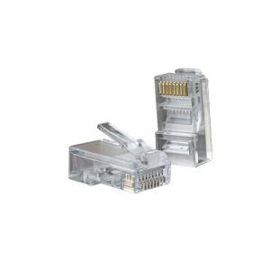 Gold-Plated UTP Cat. 5e Network Crystal Head/RJ45 Connectors/8p8c Plug