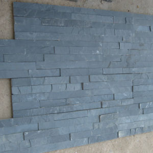Factory Direct Black Slate Cultured Stone Wall Tile pictures & photos