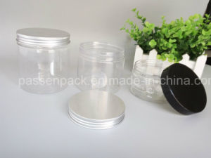Plastic Cream Bottle with Aluminum Lid (PPC-PPJ-24) pictures & photos