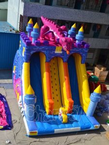Knight Vs Dragon Inflatable Slide (chsl479) pictures & photos
