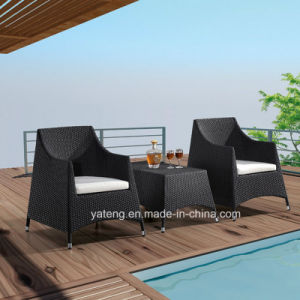 Competive Price Sythetic Rattan Outdoor Garden Set Coffee Set Usded in Balcony by Chair & Coffee Table (YT280) pictures & photos