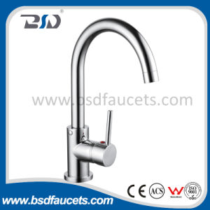 Single Handle Gooseneck Watermark Approval Kitchen Faucet Sink Water Mixer pictures & photos