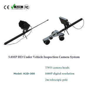 Portable 5.0MP HD Under Vehicle Inspection Mirror Trolley Checking Camera DVR System pictures & photos