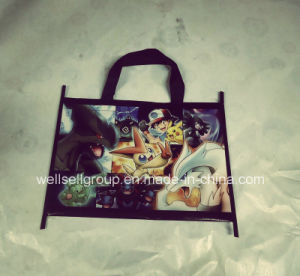 Custom Logo Print Non Woven Cartoon Shopping Bag/Advertising Bag pictures & photos
