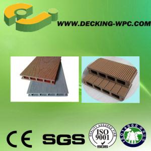 Solid WPC Decking Flooring Wood Plastic Composite Floor