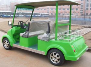 Best Electric Sightseeing Car for 4 People with CE Certificate Made by Dongfeng Motor