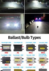 Auto HID Xe Bulb 55W 12000k Car HID Xe Headlight pictures & photos