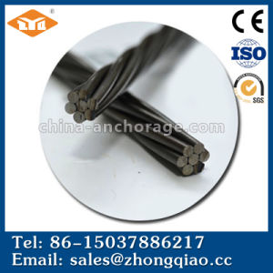 Post Tensioning Prestressing Strand with High Tensile Strength pictures & photos
