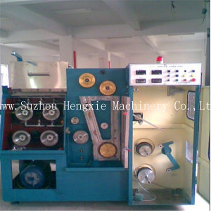 Hxe-22dt Copper Wire Drawing Machine with Annealer pictures & photos