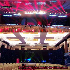 2016 Hot Events Backdrop LED Starlit Curtain for Wedding Party Decoration with Bar, Disco, Hotel etc pictures & photos