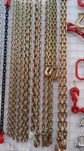 Galvanized Steel Lifting Chain Widely Used Color Glav Steel Chain pictures & photos