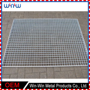 Square Expanded Stainless Steel Metal Welded Wire Mesh Panel pictures & photos