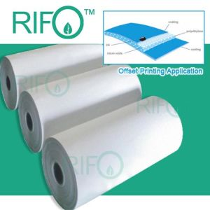 Rifo Top Quality Flexible Offset Printable Synthetic Paper with RoHS pictures & photos