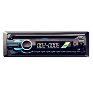 Car MP3 Player/Car Audio with Universal One DIN Fixed Panel pictures & photos