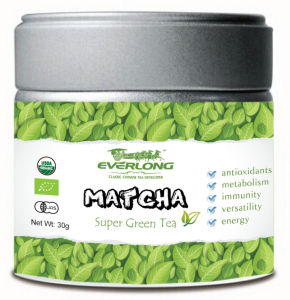 Pure Natural Organic Matcha with Private Label Organic Matcha Green Tea Powder pictures & photos