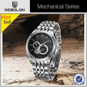 Stainlss Steel Mens Automatic Own Brand Watch