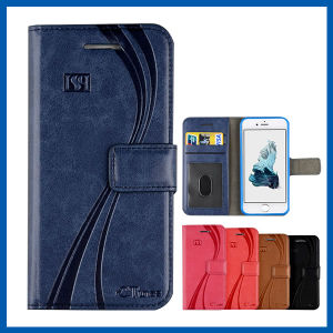 Emboss Flip Wallet Leather Card Slots Case for iPhone 6s pictures & photos