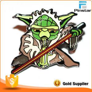 China Factory Bat Man Metal Hard Enamel Promotional Pin Badges pictures & photos