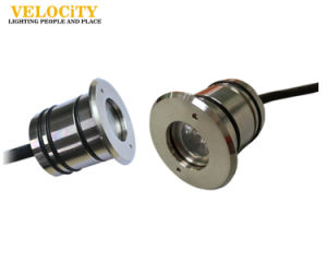 1PCS 24V IP68 RGB CREE Stainless Steel LED Fountain Pool Light pictures & photos