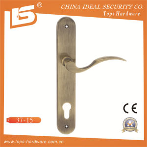 High Quality Brass Door Lock Handle Plate-3715 pictures & photos
