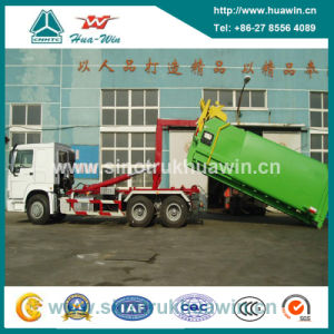 Sinotruk HOWO 6X4 Detachable Container Garbage Truck pictures & photos