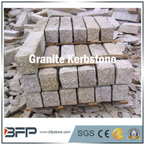 Bfp Stone Granite Yellow Kerbstone for Landscape or Garden pictures & photos