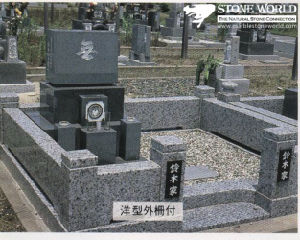 Granite Stone Monument / Tombstone with Custom Design - Tt40 pictures & photos