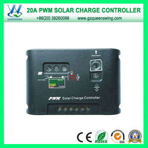 PWM 20A 12/24V Solar Charge Controller (QWP-1420SLC-34) pictures & photos