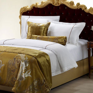 Egyptian Cotton Embroidered Hotel Collection Duvet Cover Set Bedding Set pictures & photos