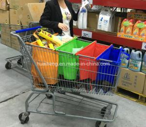 4PCS Supermarket Reusable Foldable Trolley Bag Shopping Cart Organizer Bag pictures & photos