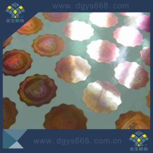 Customized Shaped Laser Sticker Printing pictures & photos