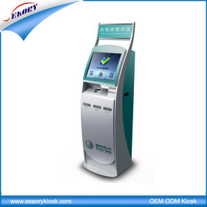 Factory Price 17′′ Android Bill Acceptor Payment Touch Screen Kiosk pictures & photos