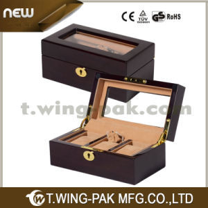 High-End Quality Wooden Watch Box with Making Silk Screen Logo