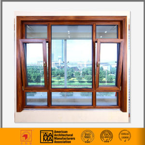 Heat Insulation and Sound Proof Tilt and Turn Aluminium Window pictures & photos