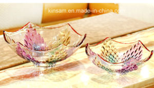 Modern Design Crystal Glass Fruit Bowl for Home Decoration pictures & photos