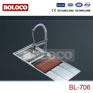 Steel Sink (BL-706L/R) pictures & photos